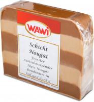 Schicht-Nougat Scheibe