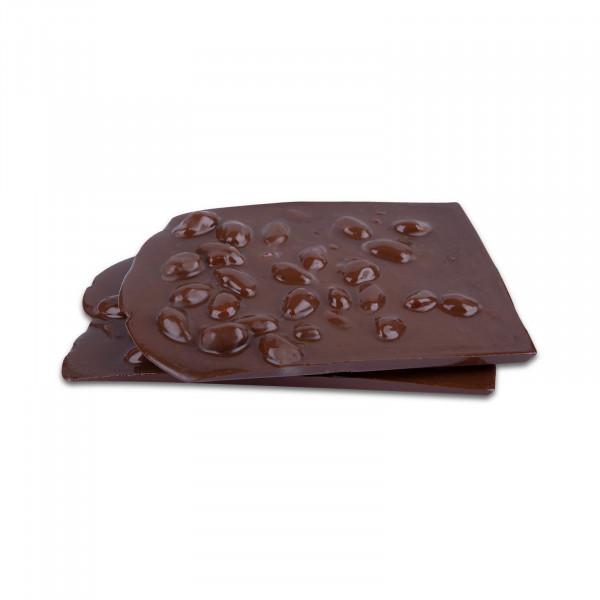 Frische-Tafeln karamellisierte Mandel Zartbitterschokolade