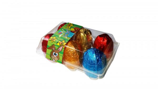 Rassel-Eier 6er Pack