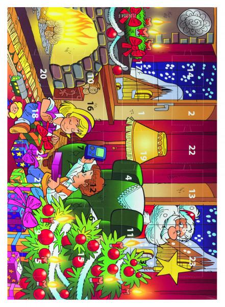 Kinder Adventskalender Motiv D