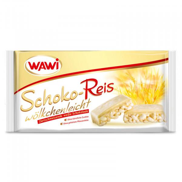Schoko-Reis Tafel weiß