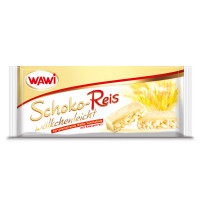 Schoko-Reis Riegel weiß