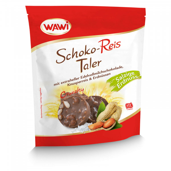Schokoreis Taler Erdnuss