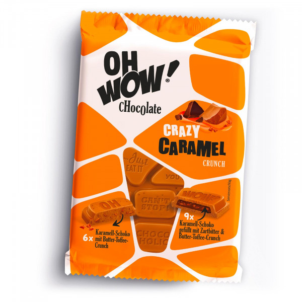 OH WOW Crazy Caramel Crunch