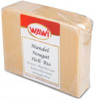 Mandel-Nougat hell Scheibe Bio