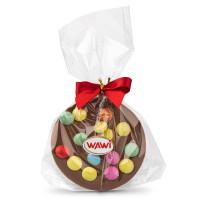 Bunte Schokoladentaler
