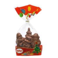Weihnachtsfest Schokoladen-Figuren