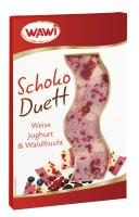 Schoko Duett Weiss Joghurt & Waldfrucht