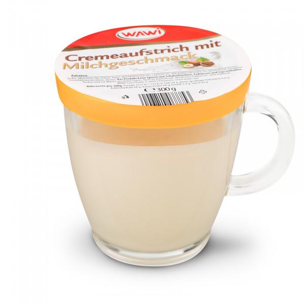 Cremeaufstrich mit Milchgeschmack