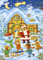 Kinder Adventskalender Motiv B