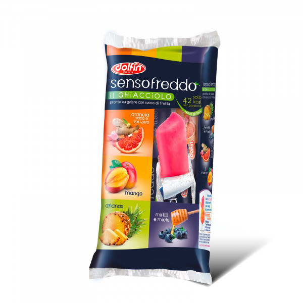 Sensofreddo Frucht-Eiszapfen
