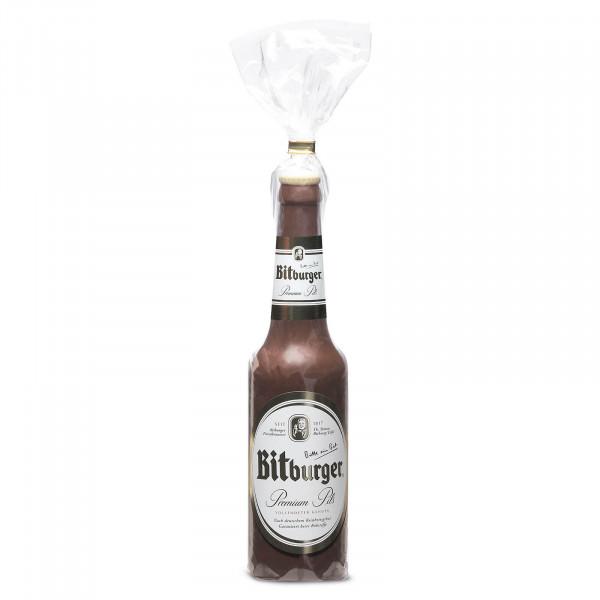 Schokoladen- Bierflasche
