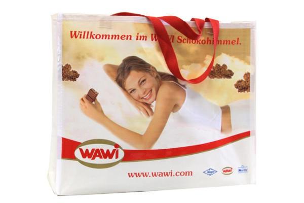 """Große WAWI Shopping Bag aus robustem Textilmaterial"""