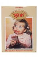 """""""Für alle Sammler und Entdecker, das WAWI Emaille Schild '50 Jahre WAWI'"""""""