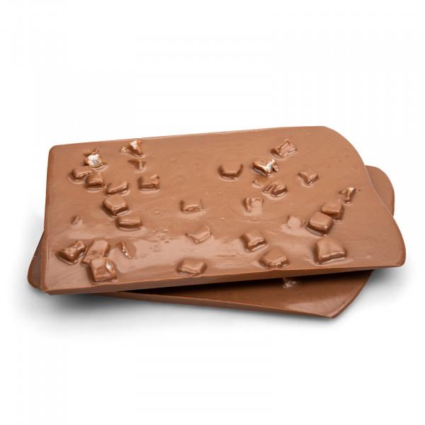 Ingwer in Vollmilch-Schokolade