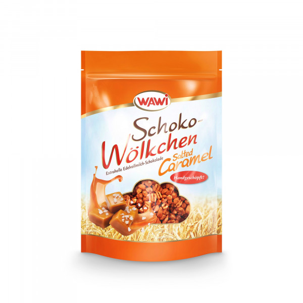 Schoko-Wölkchen Salted Caramel