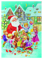 Kinder Adventskalender Motiv A