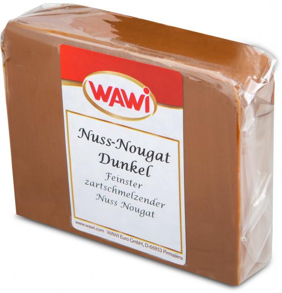 Nuss-Nougat Dunkel Scheibe