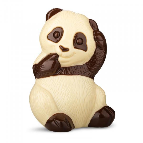 Pandabär aus weißer Schokolade